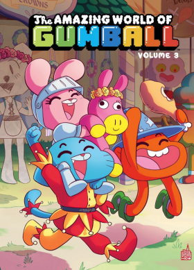 couverture comic The amazing world of Gumball T3