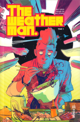 couverture comic The weatherman T1