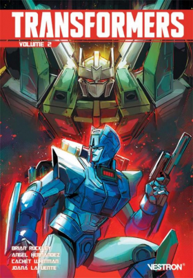 couverture comic Transformers  T2