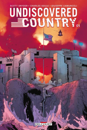 couverture comic Undiscovered Country T1