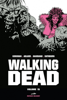 couverture comic Walking Dead T15