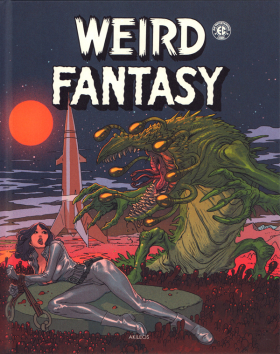 couverture comic Weird Fantasy T2