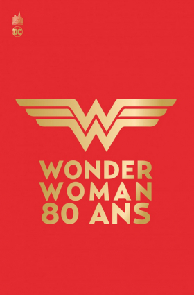 couverture comic Wonder Woman 80 ans