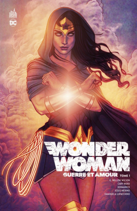couverture comic Wonder Woman Guerre et amour T1