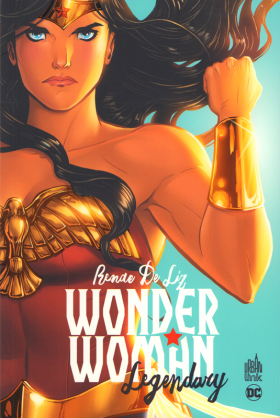couverture comic Wonder Woman Legendary