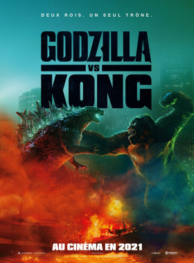 couverture film Godzilla vs. Kong