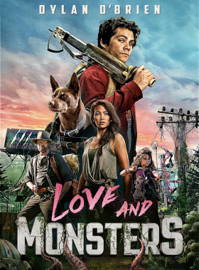couverture film Love and Monsters