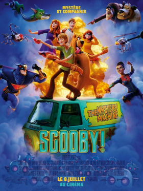 couverture film Scooby !