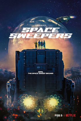 couverture film Space Sweepers