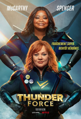 couverture film Thunder Force