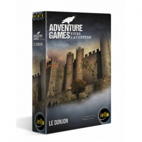 couverture jeux-de-societe Adventure Games - Le Donjon
