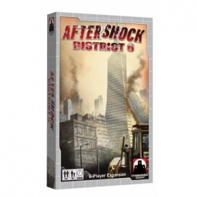 couverture jeu de société Aftershock : San Francisco & Venice - District 6