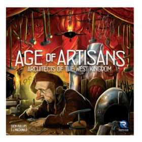 couverture jeu de société Architects of the West Kingdom : Age of Artisans Expansion