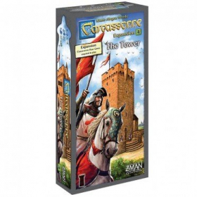 couverture jeu de société Carcassonne : Expansion 4 : The Tower