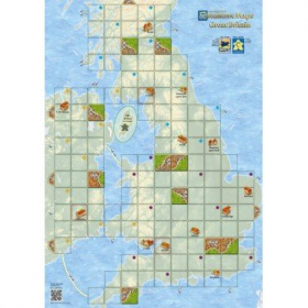 couverture jeu de société Carcassonne : Map Great Britain