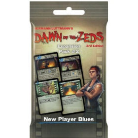 couverture jeu de société Dawn of the Zeds 3nd Edition - Expansion Pack 2 : New Player Blues