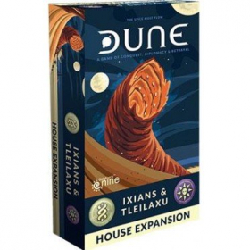 couverture jeu de société Dune: Ixians and Tleilaxu House Expansion