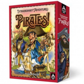 couverture jeu de société Extraordinary Adventures : Pirates