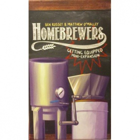 couverture jeu de société Homebrewers : Getting Equipped
