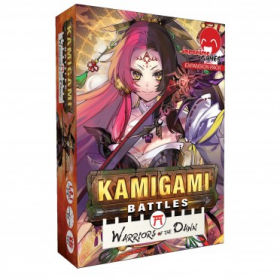 couverture jeu de société Kamigami Battles : Warriors of the Dawn