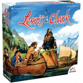 couverture jeu de société Lewis & Clark - The Expedition - 2nd Edition