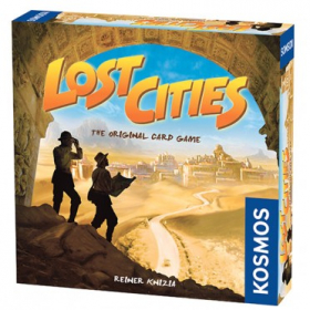 couverture jeu de société Lost Cities - The Card Game