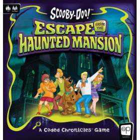 couverture jeu de société Scooby-Doo: Escape from the Haunted Mansion - A Coded Chronicles Game