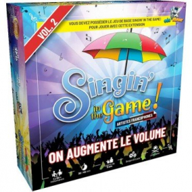 couverture jeu de société Singin'in the Game - Vol 2 - On augmente le volume