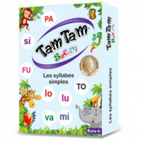top 10 éditeur Tam Tam Safari : Les Syllabes
