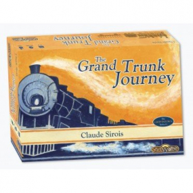 couverture jeu de société The Grand Trunk Journey