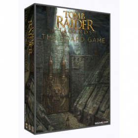 couverture jeu de société Tomb Raider Legends : The Board Game