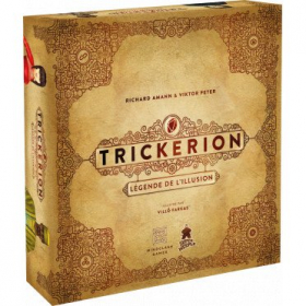 couverture jeux-de-societe Trickerion - Légende de L'Illusion