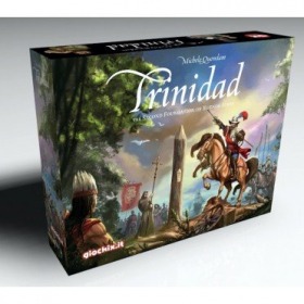 couverture jeu de société Trinidad, the City Building Board Game
