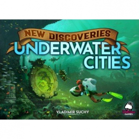couverture jeu de société Underwater Cities: New Discoveries