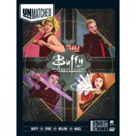 couverture jeu de société Unmatched : Buffy the Vampire Slayer