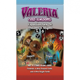 top 10 éditeur Valeria: Card Kingdoms - Expansion Pack 4 - Peasants & Knights
