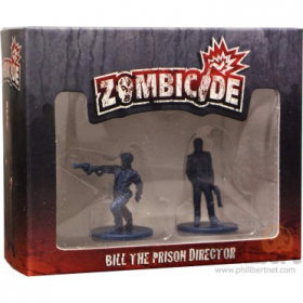 couverture jeux-de-societe Zombicide : Bill the Prison Director