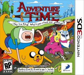 couverture jeu vidéo Adventure Time : Hey Ice King ! Why'd you steal our garbage ?!