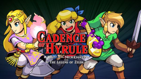 couverture jeu vidéo Cadence of Hyrule: Crypt of the NecroDancer featuring The Legend of Zelda