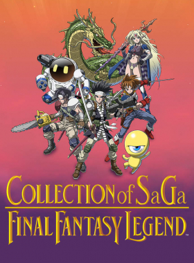 couverture jeu vidéo Collection of SaGa: Final Fantasy Legend