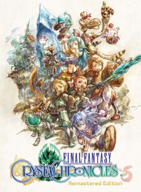 couverture jeu vidéo Final Fantasy Crystal Chronicles Remastered Edition