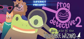 couverture jeu vidéo Frog Detective 2: The Case of the Invisible Wizard