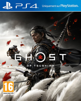 couverture jeux-video Ghost of Tsushima