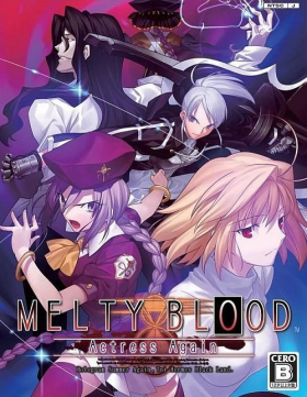 couverture jeu vidéo Melty Blood Actress Again Current Code