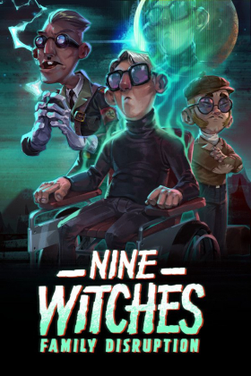 couverture jeu vidéo Nine Witches : Family Disruption