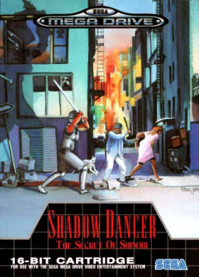 couverture jeu vidéo Shadow Dancer : The Secret of Shinobi