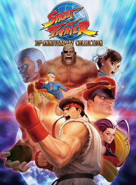 couverture jeu vidéo Street Fighter 30th Anniversary Collection