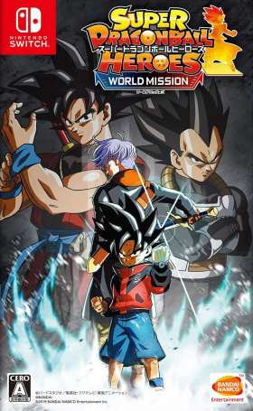 couverture jeu vidéo Super Dragon Ball Heroes : World Mission