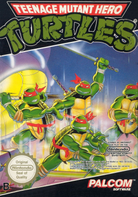 couverture jeu vidéo Teenage Mutant Hero Turtles