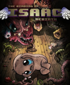 couverture jeu vidéo The Binding of Isaac : Rebirth